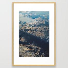Mountain Aerial Digital Prints, Spain Mountains Poster, Iberian Prints, Modern Home Decor, Wall Art, Framed Art Print