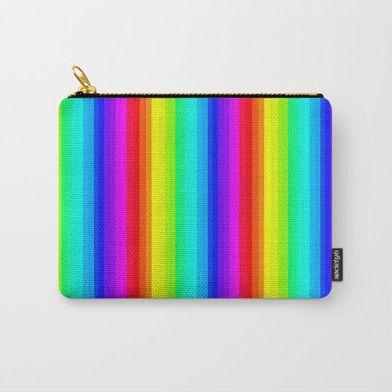 Rainbow Line #society6 Carry-All Pouch