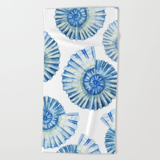 Sea Life Pattern 04 Beach Towel