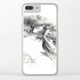Penjing & Psyche Clear iPhone Case