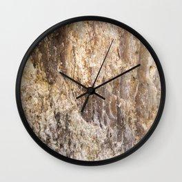 Stone Face Wall Clock