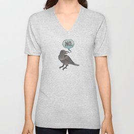 The No Crow Unisex V-Neck