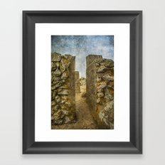 Top of Gibraltar Rock Framed Art Print