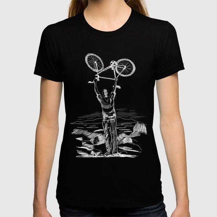 Bike Contemplation T-shirt