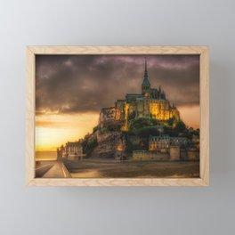 Le Mont Saint-Michel Framed Mini Art Print