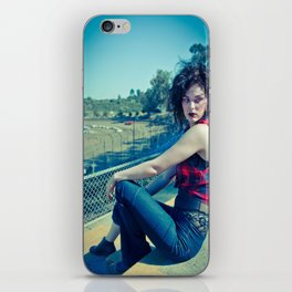 Race Track Raven iPhone Skin