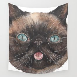 Der the Cat - artist Ellie Hoult Wall Tapestry