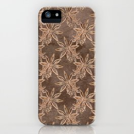 Star Anise iPhone Case