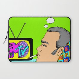 I Want my MTV the way it used to be, 90's Ewan McGregor Illustration Laptop Sleeve