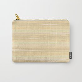 Pale Wood Background Carry-All Pouch