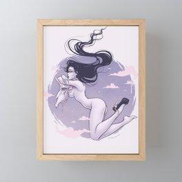 Unicorn Shoes Framed Mini Art Print