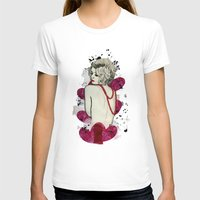 naked T-shirts featuring Naked by Melania B