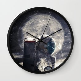 Accompanied Wall Clock