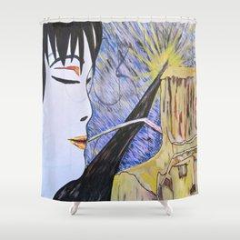 Sheba Answers Shower Curtain