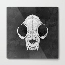 Felis Mortis - Dead Cat Metal Print