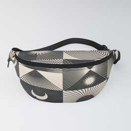 Esoteric Patchwork  Fanny Pack