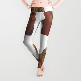 Xavier with transparent background Leggings