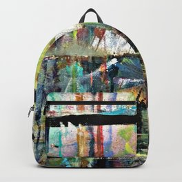Colorful Bohemian Abstract 3 Backpack