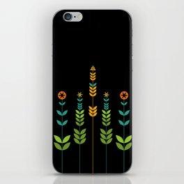 Simple Flowers iPhone Skin