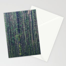 forest landscape photography tree background - trees vintage style Stationery Cards