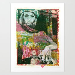 Bonnie Faye Art Print