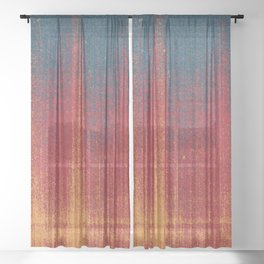 SCRATCHES / Ten Sheer Curtain