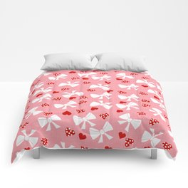 Lace gift wrap pink Comforters