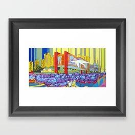 Masp, São Paulo Framed Art Print
