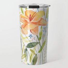 Lily Bouquet Travel Mug