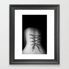 Corsetted #1 Framed Art Print
