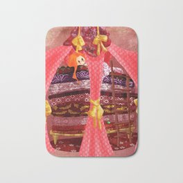 The princess and the pea Bath Mat