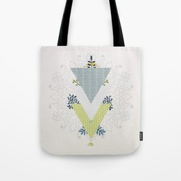 Grow Strong Mandala Tote Bag