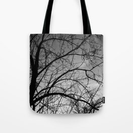 November Tree Tote Bag