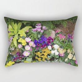 Floral Spectacular - Spring Flower Show Rectangular Pillow