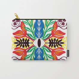 Tropical Spring Mandala : Eye of the protector Carry-All Pouch