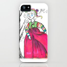 Korean traditional clothes iPhone Case