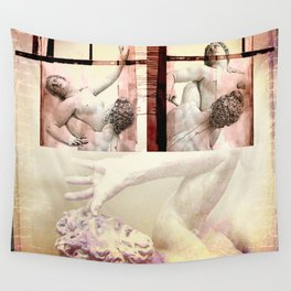 The Rape of the Sabine Women Wall Tapestry