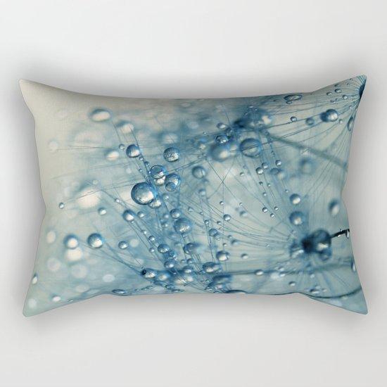 Dandy Blue Shower Rectangular Pillow