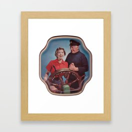 Creepy Captain Framed Art Print
