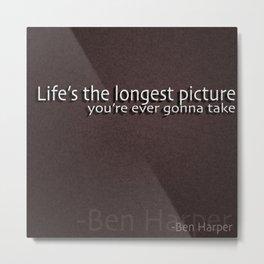 -Ben Harper Metal Print
