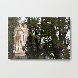 Forest Angel Metal Print