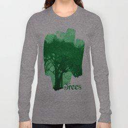 Alberi nel bosco Long Sleeve T-shirt