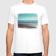 silent sylt (vintage) MEDIUM Mens Fitted Tee White