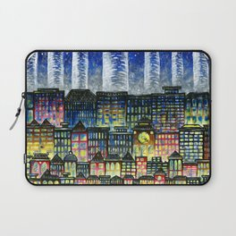 Crowded Haunts Laptop Sleeve
