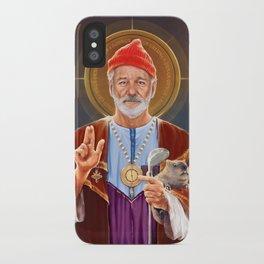 Saint Bill of Murray iPhone Case
