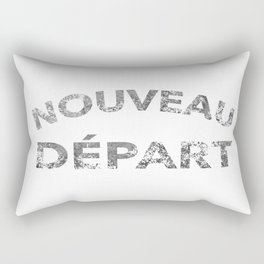Nouveau Départ - Fresh Start Rectangular Pillow