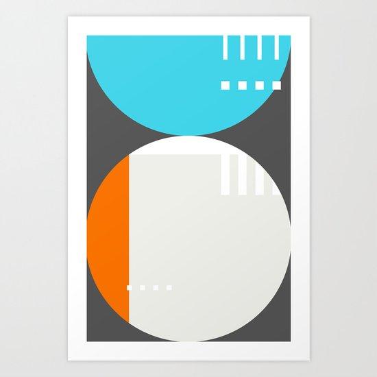 Spot Slice 01 Art Print