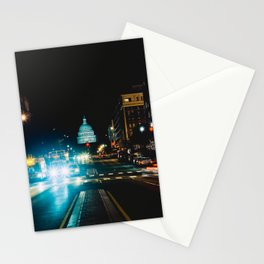 View of US Capitol Building from North Capitol Street Stationery Cards