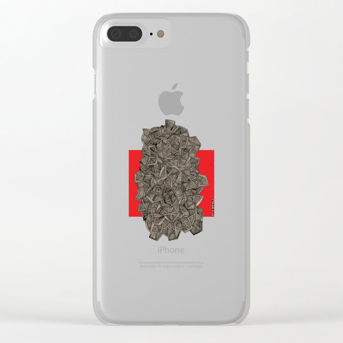 - metro - Clear iPhone Case