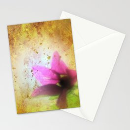 marriage of Titania; Salmon berry floral duet Shakespearean hidden pictures Stationery Cards